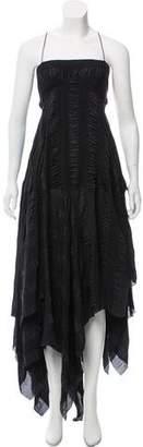 Marc Jacobs Sleeveless Flared Maxi Dress