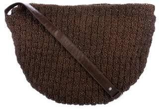 Bottega Veneta Vintage Chainmail Leather Crossbody Bag