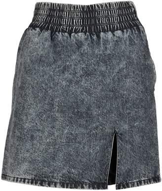 Miu Miu Mini Skirt Denim