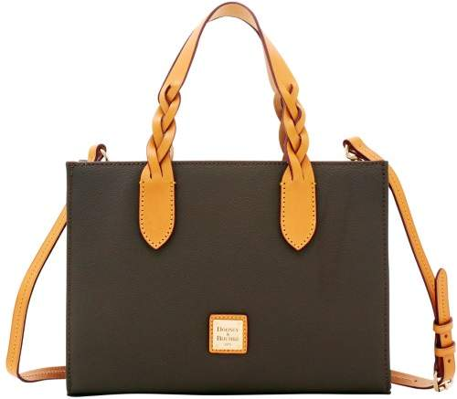 Dooney & Bourke Eva Braid Gia Satchel - BROWN TMORO - STYLE