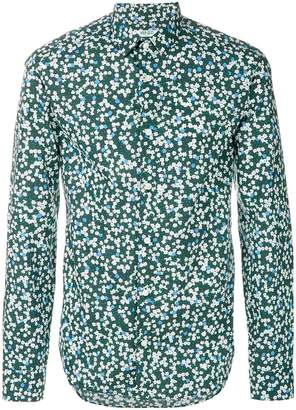 Kenzo printed urban slim fit shirt
