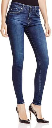 AG Farrah High Rise Skinny Jeans in Paradox $188 thestylecure.com