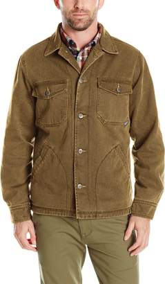Woolrich Men's Dorrington Twill Shirt Jacket Outerwear