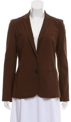 Diane von Furstenberg Notch-Lapel Long Sleeve Blazer