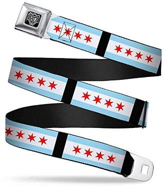 Buckle-Down Unisex-Adults Seatbelt Belt Chicago XL