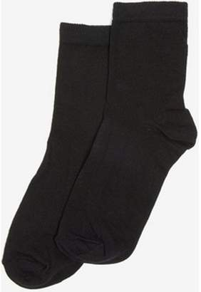Dorothy Perkins Womens Black 5 Pack Plain Ankle Socks