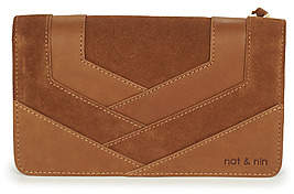 Nat & Nin TALIA women's Purse wallet in Brown