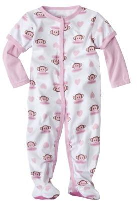 Paul Frank for Target® Newborn Girls 2fer Julius-Hearts Sleep N Play - Pink