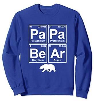 PaPa BeAr with Bear Science Periodic Table Sweatshirt