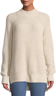 Lost + Wander Adelia Chunky-Knit Turtleneck Sweater