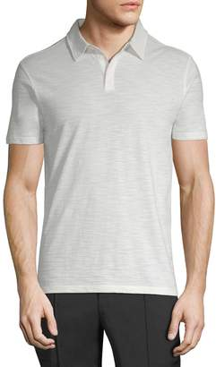 John Varvatos Men's Cotton Short Sleeve Polo