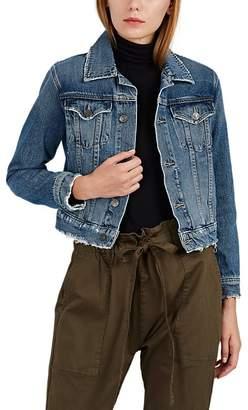Current/Elliott Women's Baby Denim Trucker Jacket