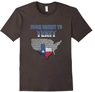 From BREXIT to TEXIT Shirt Texas T-Shirt