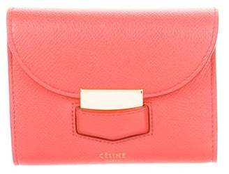 Celine 2016 Trotteur Small Multifunction Wallet
