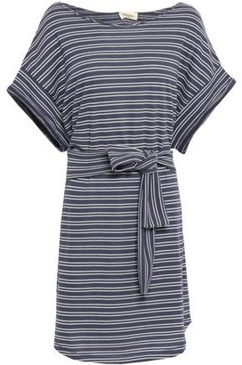 American Vintage Striped French Terry Mini Dress