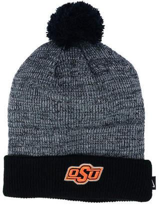 Nike Oklahoma State Cowboys Heather Pom Knit Hat