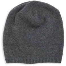 Solid Cashmere Hat $90 thestylecure.com