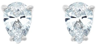 Affinity Diamond Jewelry Affinity 3/4 cttw Pear Diamond Earrings,14K White Gold