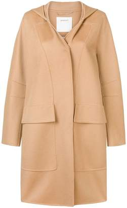 Sportmax single breasted duffle coat