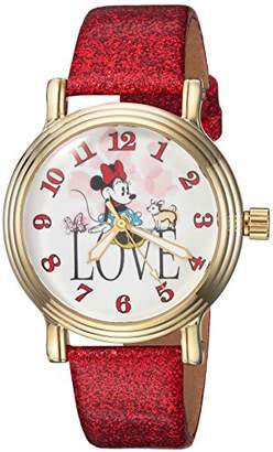 Disney Women's Minnie Mouse' Quartz Metal Casual Watch