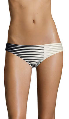 La Perla Medium Striped Front Bikini Bottom
