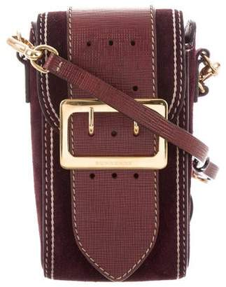 Burberry Suede Buckle Bag