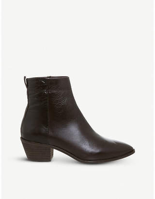 Office Amarillo heeled leather ankle boots