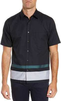 Theory Bruner Regular Fit Sport Shirt
