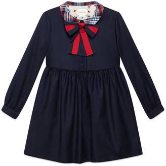 Children's wool cashmere Web dress $560 thestylecure.com
