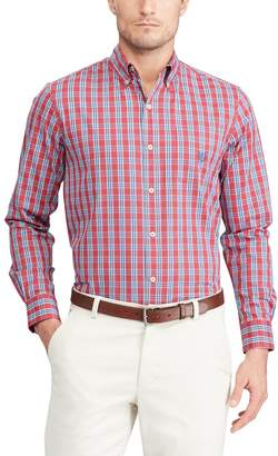 Chaps Men's Classic-Fit Stretch Poplin Button-Down Shirt