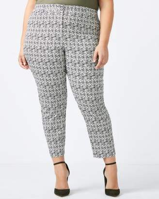 Penningtons Savvy Chic Printed Ankle Pant - In Every Story