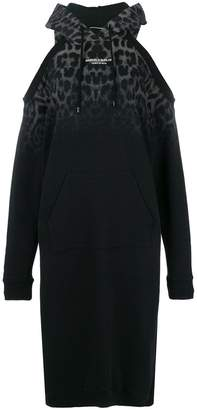 Marcelo Burlon County of Milan cut-detail sweatshirt dress