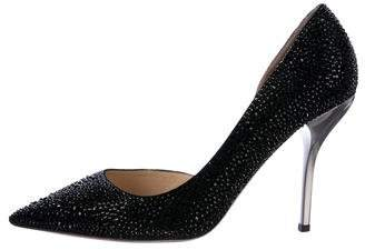 Jimmy Choo Willis Crystal Pumps