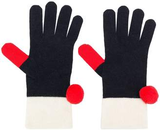 Parker Chinti & pompom gloves