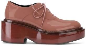 MM6 MAISON MARGIELA platform lace-up shoes