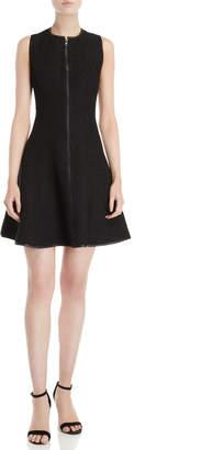 Raoul Black Stella Zip-Front Dress