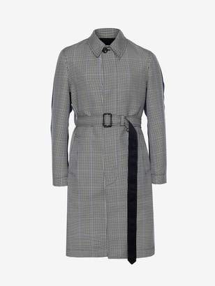 Alexander McQueen Pieced and Patched Trench Coat
