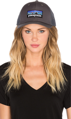 Patagonia P-6 Logo Trucker Hat $29 thestylecure.com