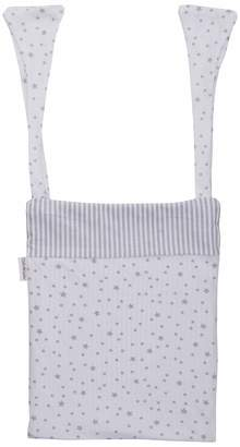 Clair De Lune Cot Pocket (Grey Stars and Stripes)