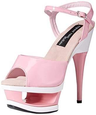The Highest Heel Women's Lexi-51-Pkpt Platform Sandal