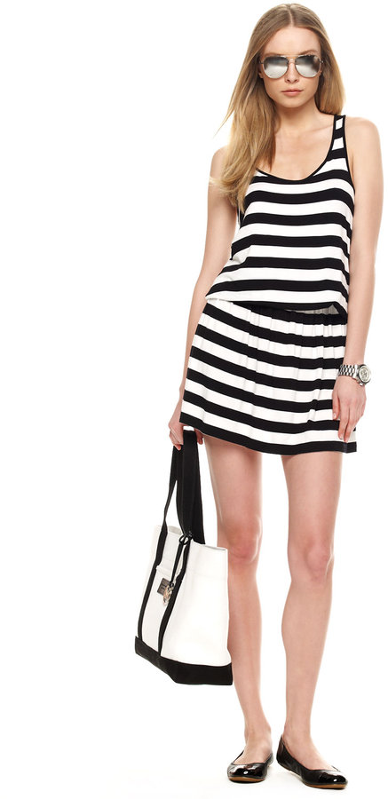 MICHAEL Michael Kors Striped Cami Dress
