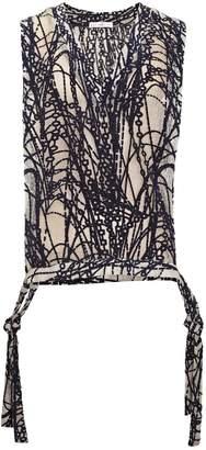 JIRI KALFAR - Crochet Texture Waistcoat