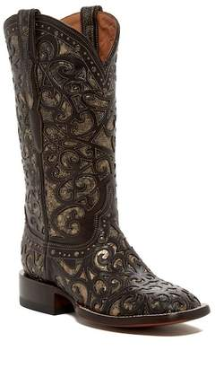 Lucchese Curly Cowboy Leather Boot