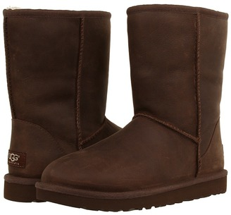 UGG Classic Short Leather $148 thestylecure.com