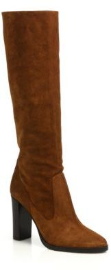 Jimmy Choo Jimmy Choo Honor 95 Suede Tall Boots