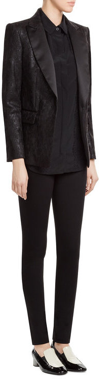 DKNYDKNY Silk Blouse with Lace