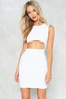 Nasty Gal Cut-Out of this World Bodycon Dress