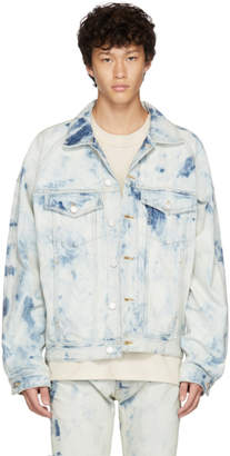 Fear Of God Blue Selvedge Denim Inverted Holy Water Jacket