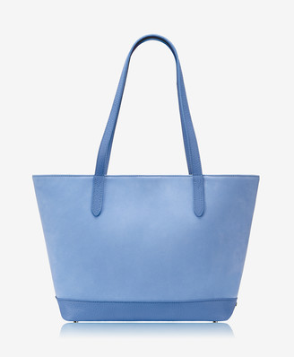 GiGi New York Teddie Tote, Cornflower French Nubuck Suede