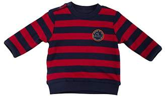 Sigikid Baby Boys Wendeshirt, Baby Long-Sleeved T-Shirt - Turquoise - 3-6 Months